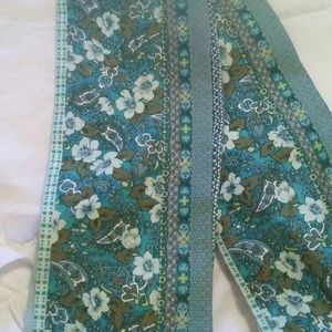 Accessories - Reversible Silk Print Scarf/Belt/Tie